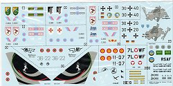 Decals with Mark 1 Ef 2000/Typhoon book