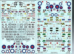 Fantasy Printsy Printshop RAF Hunter decals