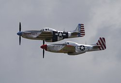 P-51 pair Horsemen Flying Legen