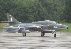 Hunter T.7 XL565, 208 Sq markings Bruntingthorpe 30.08 15