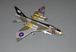 Lightning F.9 74 Sqn, 1977  Tiger Meet