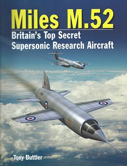 Miles M.52, tony Buttles