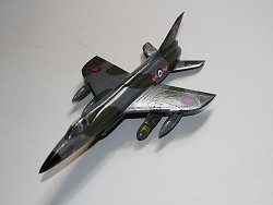 Hawker P.1121 98 SQn Jever with Green Cheese
