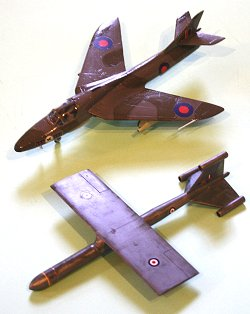 Vickers Red Rapier and Hunter T.14