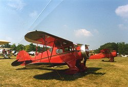Wacos in the Vintage field at Oshkosh 2002